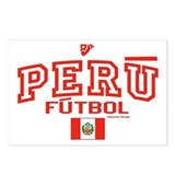 Peru Futbol/Soccer Postcards (Package of 8)