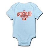 Peru Futbol/Soccer Infant Bodysuit