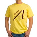 Out Campaign Yellow T-Shirt