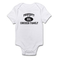 Property of Crocker Family Infant Bodysuit