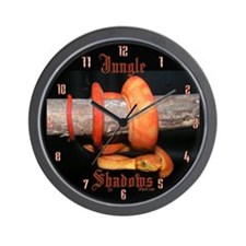 Orange Flame ATB Clock