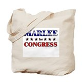 MARLEE for congress Tote Bag
