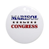 MARISOL for congress Ornament (Round)