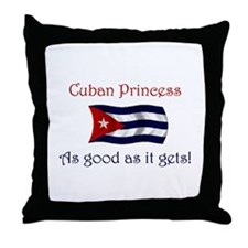 Cuban Princess Throw Pillow