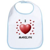 I Love Marilyn - Bib