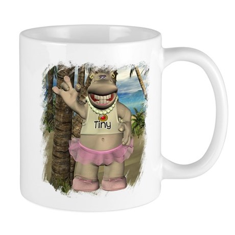 Heather Hippo Paradise Island Mug