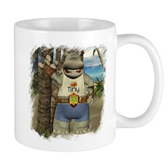 Heath Hippo Paradise Island Mug