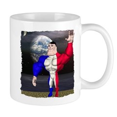 Alpha Man In Space Mug