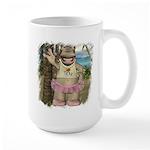 Heather Hippo Paradise Island Large Mug