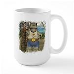 Heath Hippo Paradise Island Large Mug