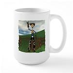 Hay Billy at the Ranch Large Mug