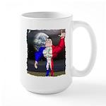 Alpha Man In Space Large Mug