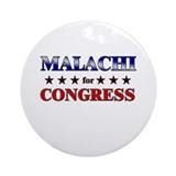 MALACHI for congress Ornament (Round)