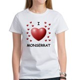 I Love Monserrat - Tee