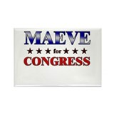 MAEVE for congress Rectangle Magnet (10 pack)