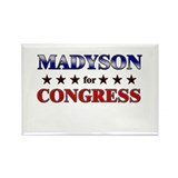 MADYSON for congress Rectangle Magnet