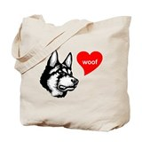 Northern Inuit Dog Tote Bag
