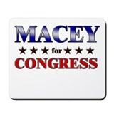 MACEY for congress Mousepad