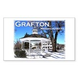 Grafton, Massachusetts - Rectangle Decal