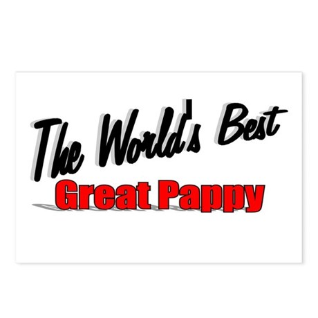 """The World's Best Great Pappy"" Postcards (Package"