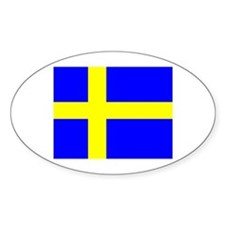 How Swede it is! Oval Decal