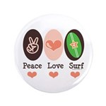 Surfing Peace Love Surf Surfboard 3.5