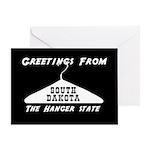 South Dakota - The Hanger State Greeting Card