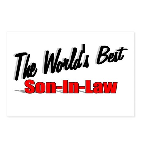 """The World's Best Son-In-Law"" Postcards (Package o"