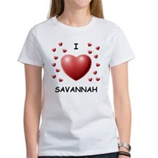 I Love Savannah - Tee