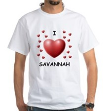 I Love Savannah - Shirt