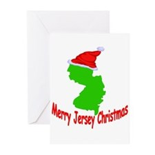 Merry Jersey Christmas Greeting Cards (Pk of 10)