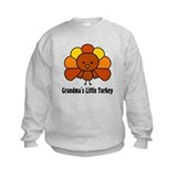 Grandma's Little Turkey Sweatshirt