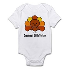 Grandma's Little Turkey Infant Bodysuit