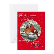 Cardinals Greeting Cards (Pk of 20)