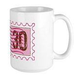 Birthday Stamp 30 Mug