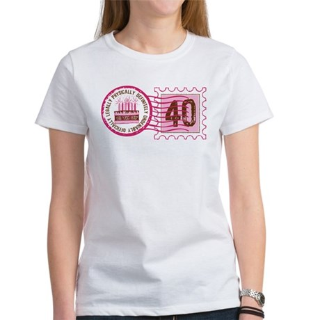 Birthday Stamp 40 Women's T-Shirt