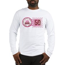 Birthday Stamp 50 Long Sleeve T-Shirt