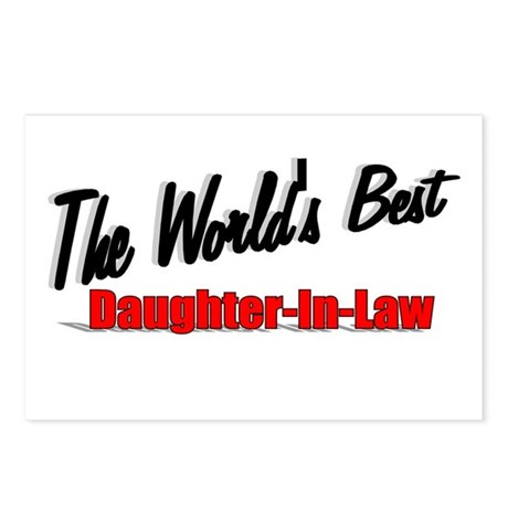 """The World's Best Daughter-In-Law"" Postcards (Pack"