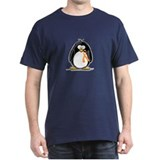 Orange Ribbon Penguin T-Shirt
