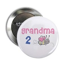 "Grandma 2 Bee! 2.25"" Button"