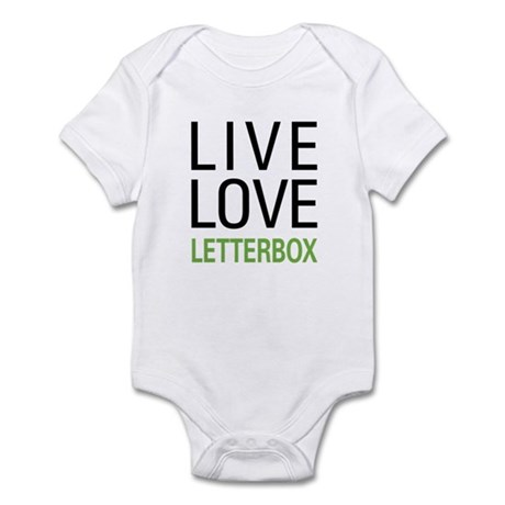 Live Love Letterbox Infant Bodysuit