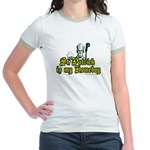 St. Patrick is my Homeboy Jr. Ringer T-Shirt
