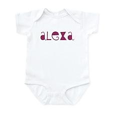 Alexa Infant Bodysuit