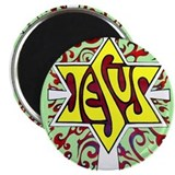 "Jesus, the Main Attraction 2.25"" Magnet (10 p"