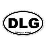 Dillingham Airport Oval Decal