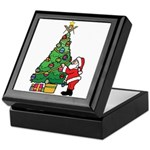 Santa and our star Keepsake Box