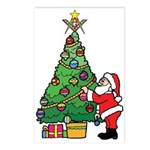 Santa and our star Postcards (Package of 8)