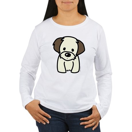 Shih Tzu Puppy Women's Long Sleeve T-Shirt