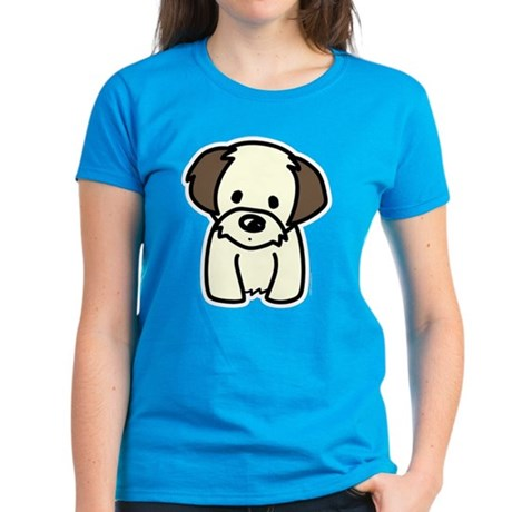 Shih Tzu Puppy Women's Dark T-Shirt