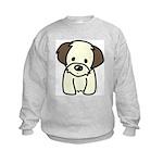 Shih Tzu Puppy Kids Sweatshirt